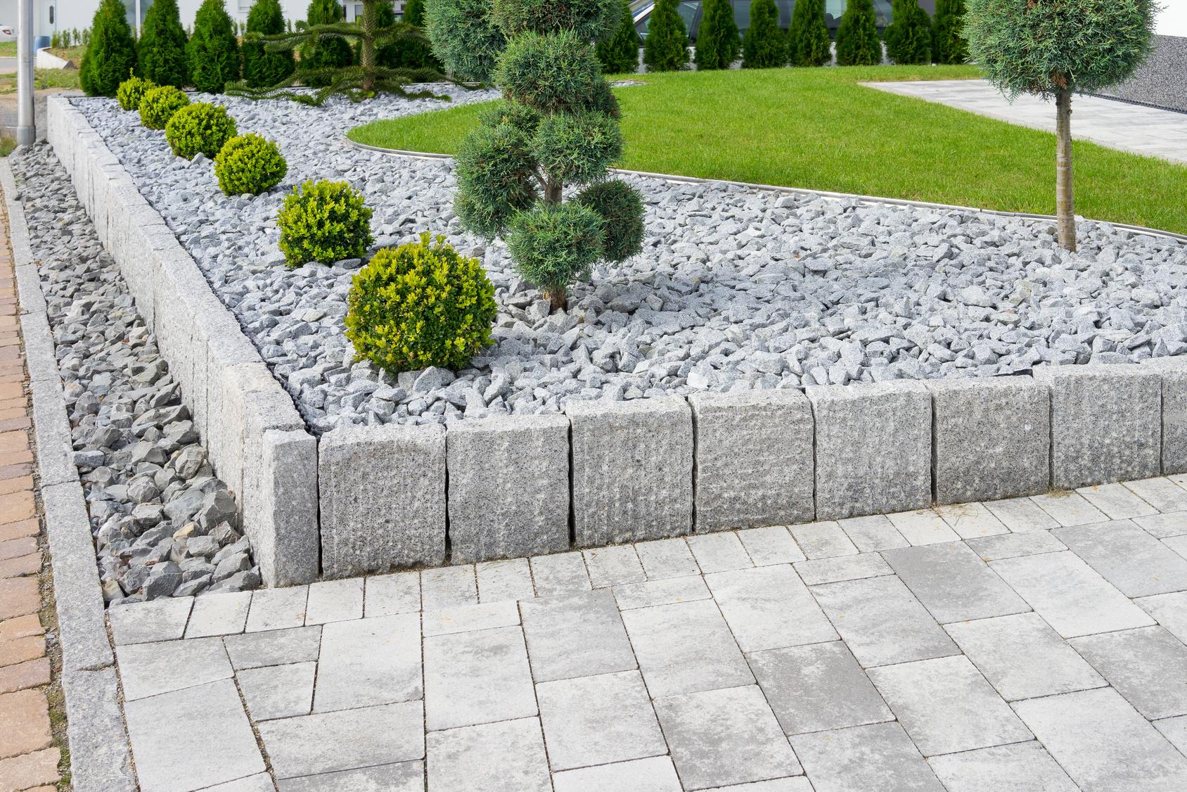 Moderne Gartengestaltung Blumen Gernandt